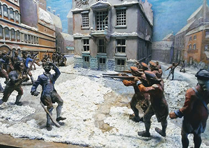 Recently restored Diorama on display in the Legacy Museum.