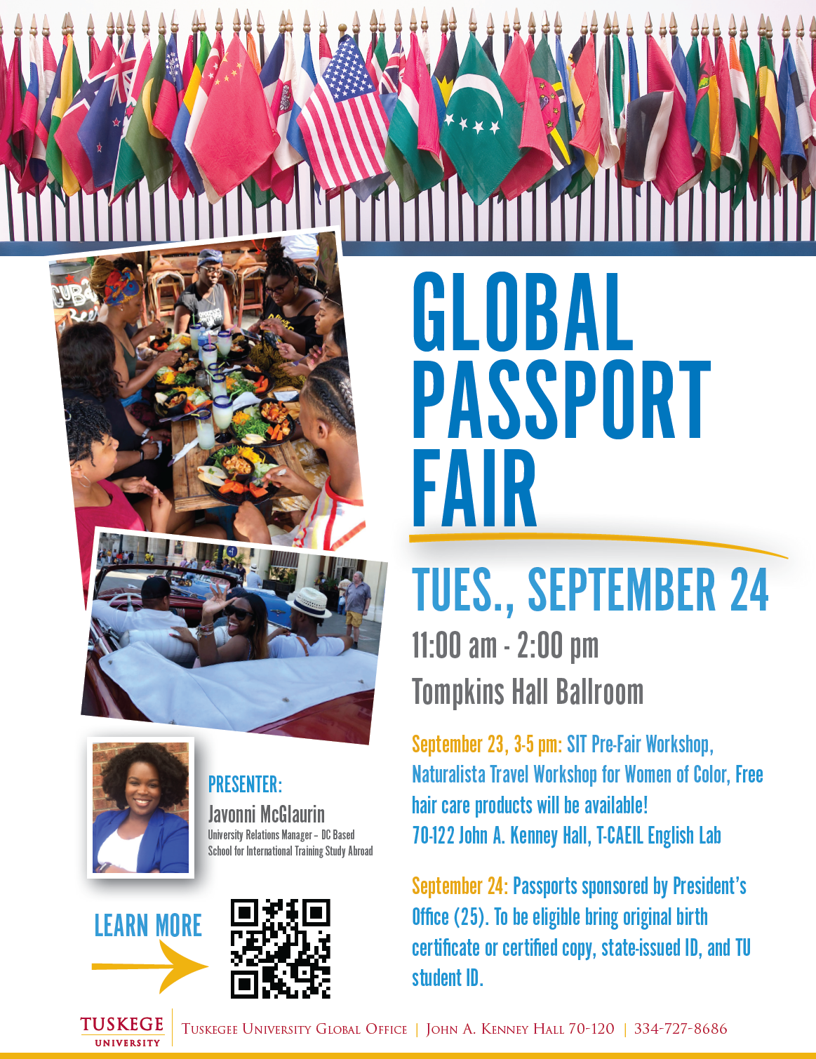 Global Fair flyer