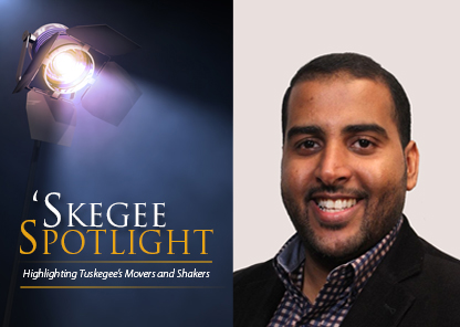 Skegee Spotlight on Grad student Ahmed Al Helal