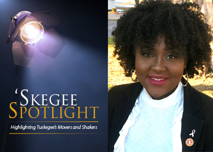 Skegee Spotlight an student Courtney Peavy
