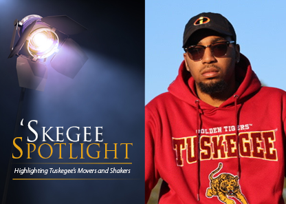 Skegee spotlight shines on student Jabare Carroll
