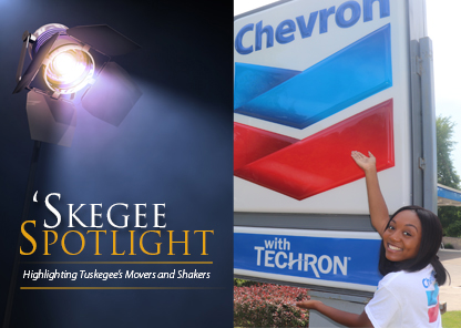 Skegee Spotlight on recent graduate Kayla Frazier