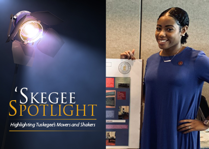 Tuskegee shines spotlight on student Nakiesha Newton