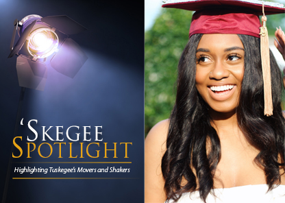 Tuskegee University spotlight on student Taryn Stewart