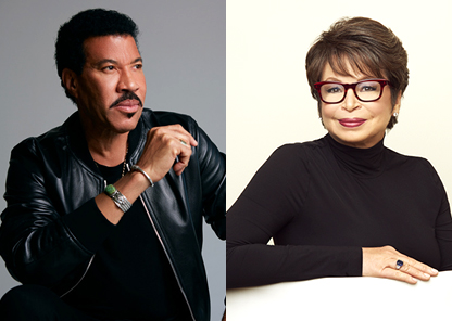 Lionel Richie and Valerie Jarrett