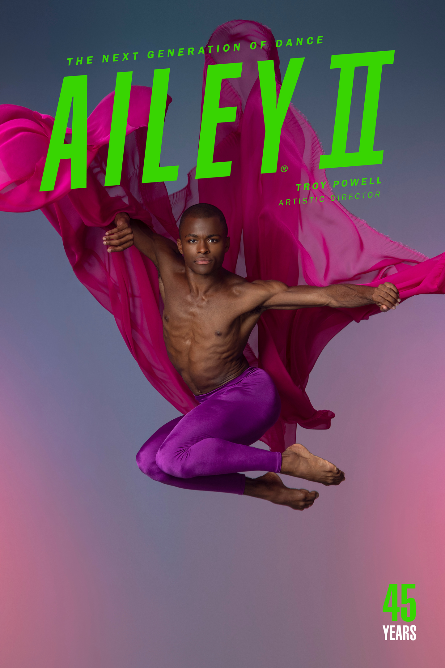 Ailey II color poster