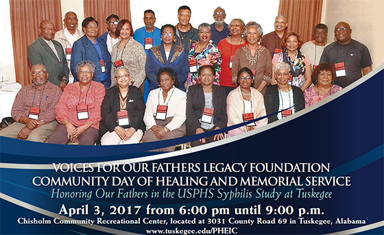Voices for Our Fathers Legacy Foundation Community Day of Healing and Memorial Service