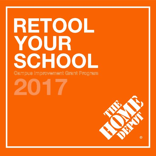 Home Depot Retool Your School 2017 image