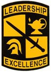 Army ROTC image (leadership and excellence)