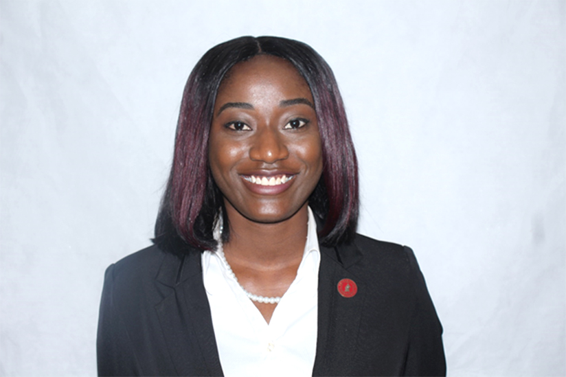 Wethned Mertilien, SGA Treasurer 2018-2019